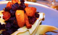 Légumes racines rôtis et caramélisés