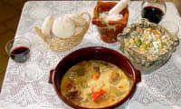 Légumes bouillis a le style de Jijona
