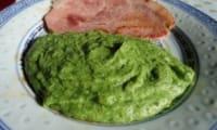 Purée de brocolis