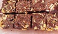 Brownie chocolat blanc et noix de pécan