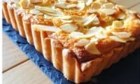 Tarte aux prunes à la crème de mascarpone vanillée