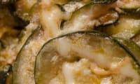 Poêlée de courgettes et fromage fondu