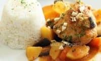 Mafé de poulet aux arachides