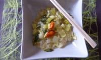 Pak choï aux nouilles de soja