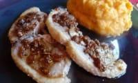 Côtelettes de canard au poivre sauce miel échalotes vinaigre balsamique Melfor