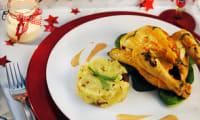 Coquelets rôtis sauce au foie gras