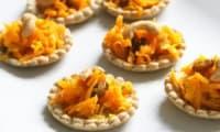 Tartelettes carottes-cajou