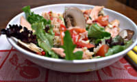 Un plat de l'été, une salade