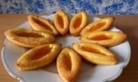 Barquettes à la confiture d'abricot