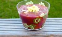 Gaspacho à la tomate fraîche