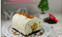 Buche de Noel façon cheesecake