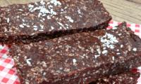 Barres chocolat-noix de coco