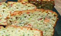 Cake saumon courgette