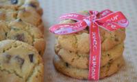 Cookies chocolat noir, blanc et au lait
