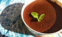 Crème fondante au chocolat