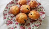 Muffins bananes myrtilles