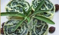 Roulés de pâtes fraiches aux épinards et ricotta