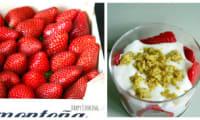 Tiramisu aux fraises et à la pistache