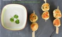 Brochettes Thaï - Sauce Coco Citronnelle Citron vert