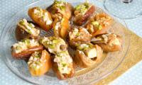 Bouchées de foie gras aux fruits secs