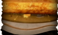 Gâteau-Flan de coco