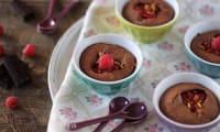 Moelleux Soufflés Chocolat Framboises