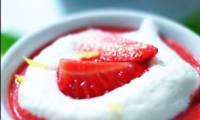Cappuccino fraise