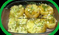 Pommes de terre tapées à l'huile d'olive et aux herbes de Provence
