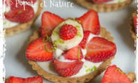 Tartelettes aux fraises et au fromage blanc