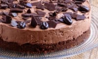 Cheese cake au chocolat