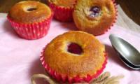 Muffins à la goyave et cerises Burlat