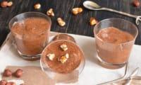 Mousse chocolat praliné noisettes caramélisées