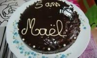 Le gâteau zébré ou zébra cake Thermomix