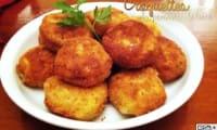 Croquettes de pommes de terre farcies à la mozzarella