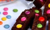 Financiers chocolat & smarties