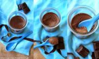 Crème dessert végétale au chocolat de Marie Chioca