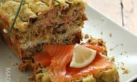 Cake au saumon et au muesli