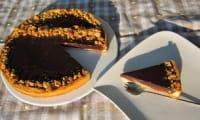 Soupçon de caramel, dans la tarte au chocolat