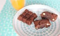 Brownies chocolat noisettes amandes oranges