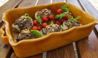 Fenouils farcis aux champignons et feta