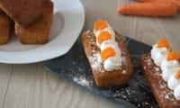 Le cake à la carotte et à la noix de coco