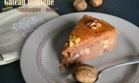 Gâteau magique à la châtaigne et aux noix