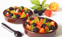 Mousse de mascarpone aux fruits d'été