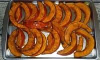 Potimarron épicé rôti au four