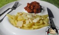 Sauce Arrabiata au poulet et penne