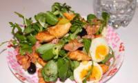 Salade de poulet tandoori
