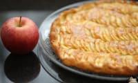 Tarte feuilletée pommes caramel au beurre salé
