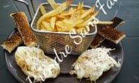 Oeufs frits à la friteuse façon pochés