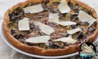 Tarte végétarienne aux champignons et parmesan