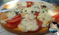 Bruschettas tomates mozzarella